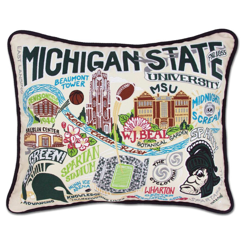 Michigan State University Pillow