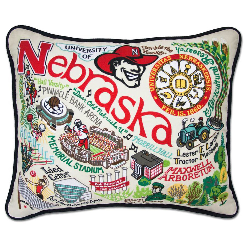 University of Nebraska Pillow