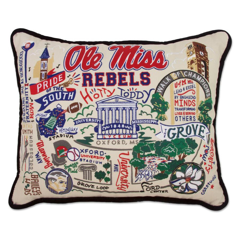 University of Mississippi Pillow