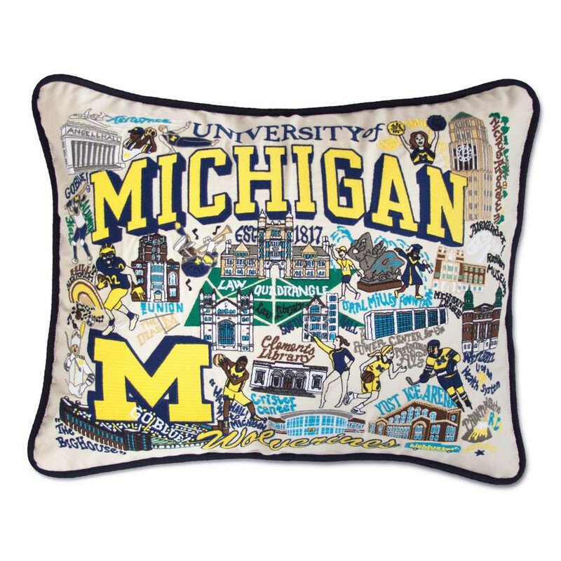 University of Michigan Pillow