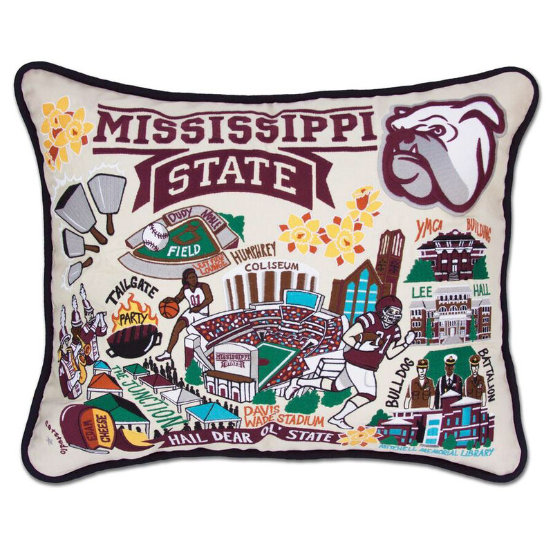 Mississippi State University Pillow