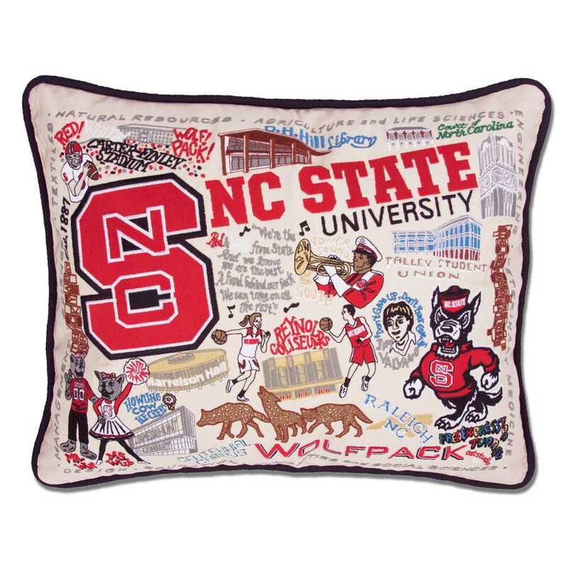 North Carolina State University Pillow