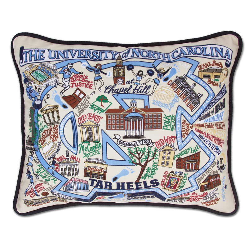 University of North Carolina Pillow