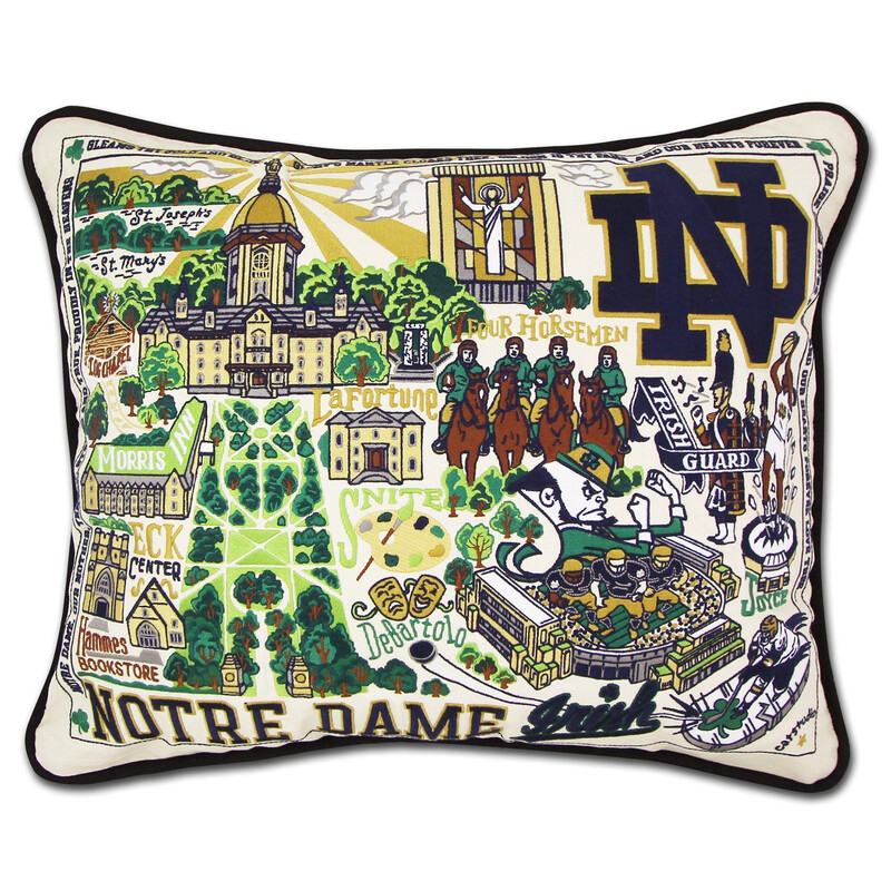 Notre Dame University Pillow