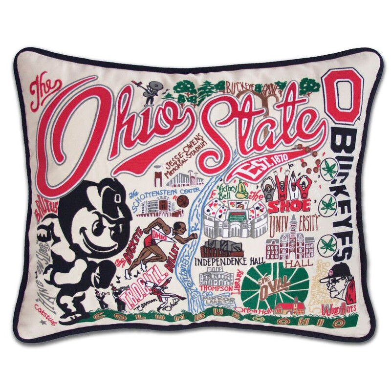 Ohio State University Pillow