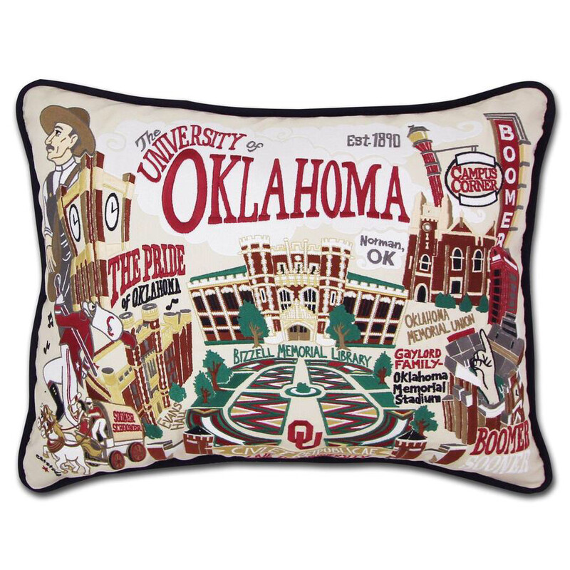 University of Oklahoma Pillow