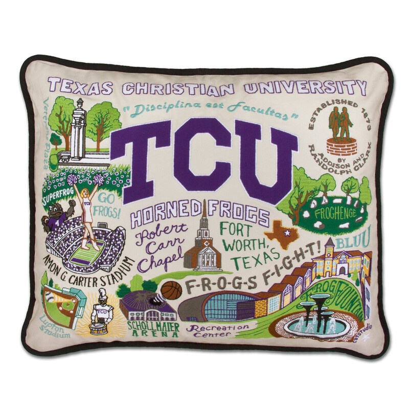 Texas Christian University Pillow