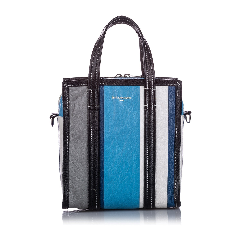 Balenciaga XS Shopper Lambskin Leather Satchel