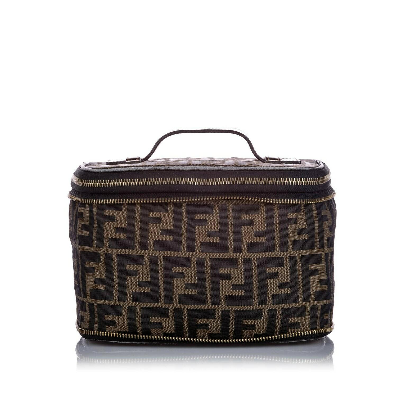 Zucca Canvas Vanity Bag