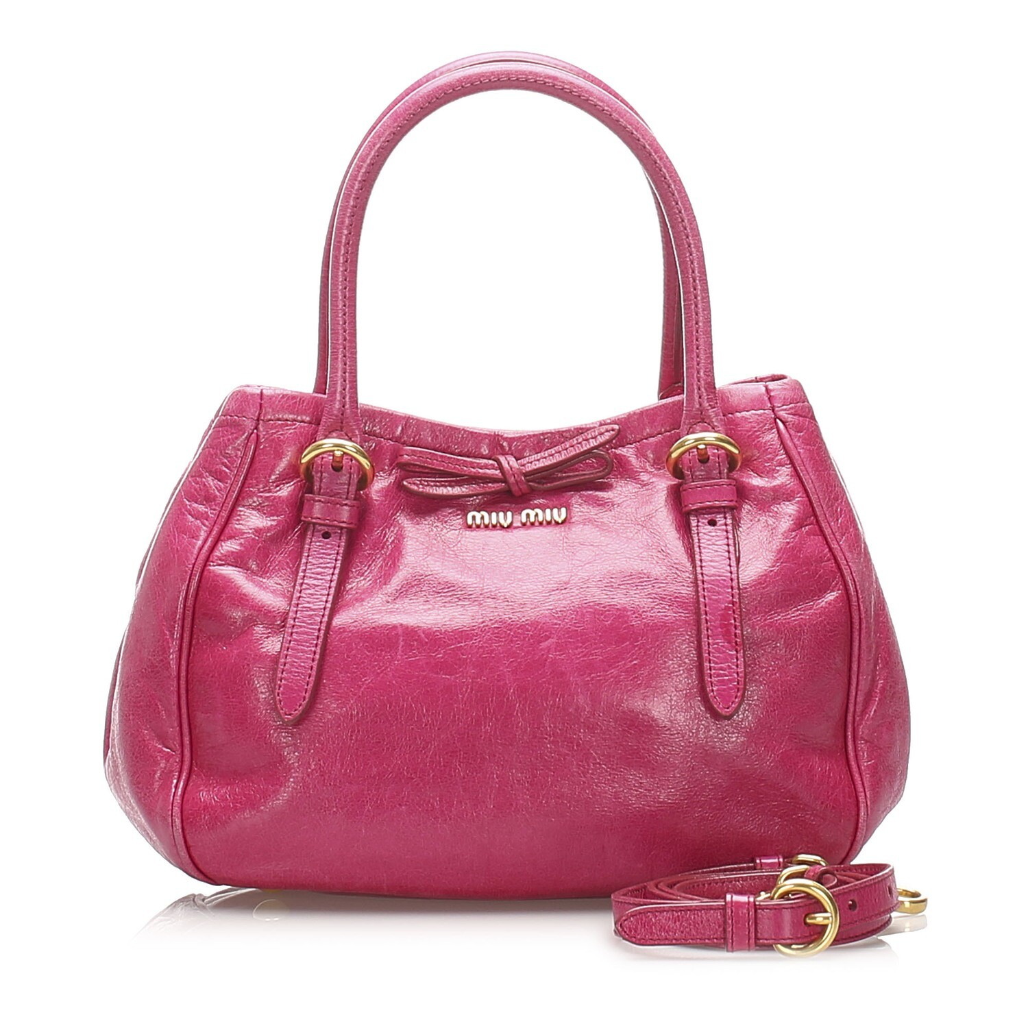 Miu Miu Vitello Lux Satchel