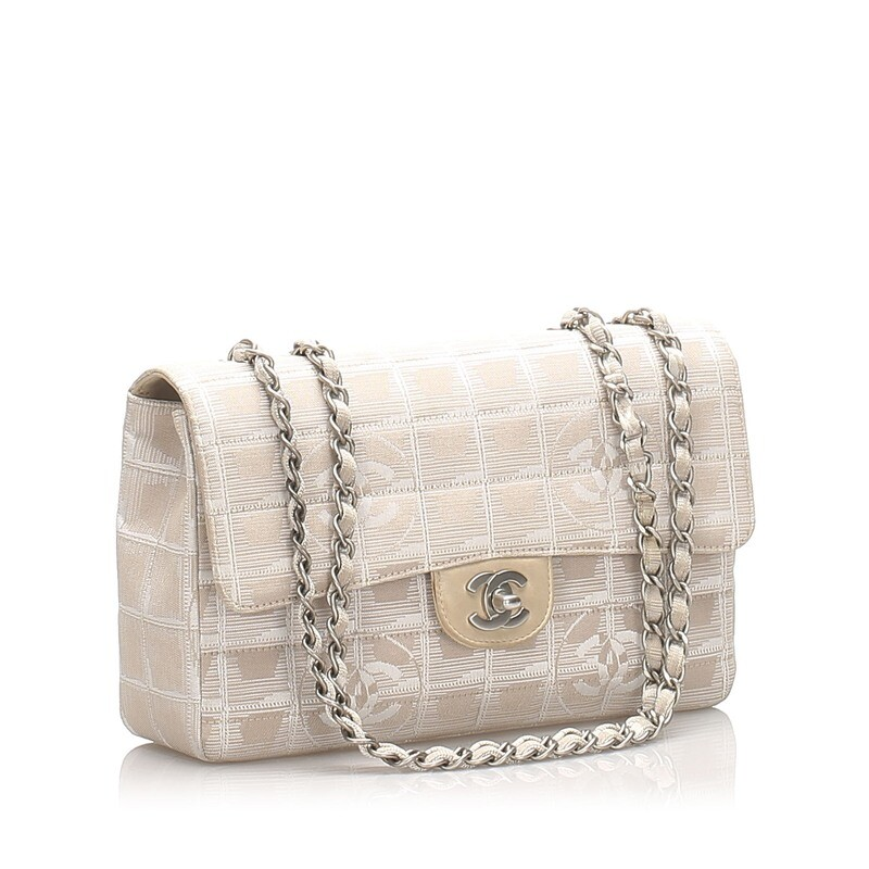 Chanel Nylon Single Flap Bag