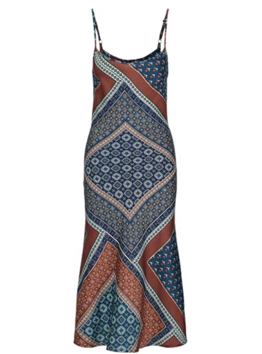 moroccan slip dress