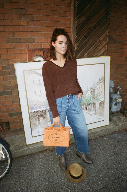 coco v-neck sweater