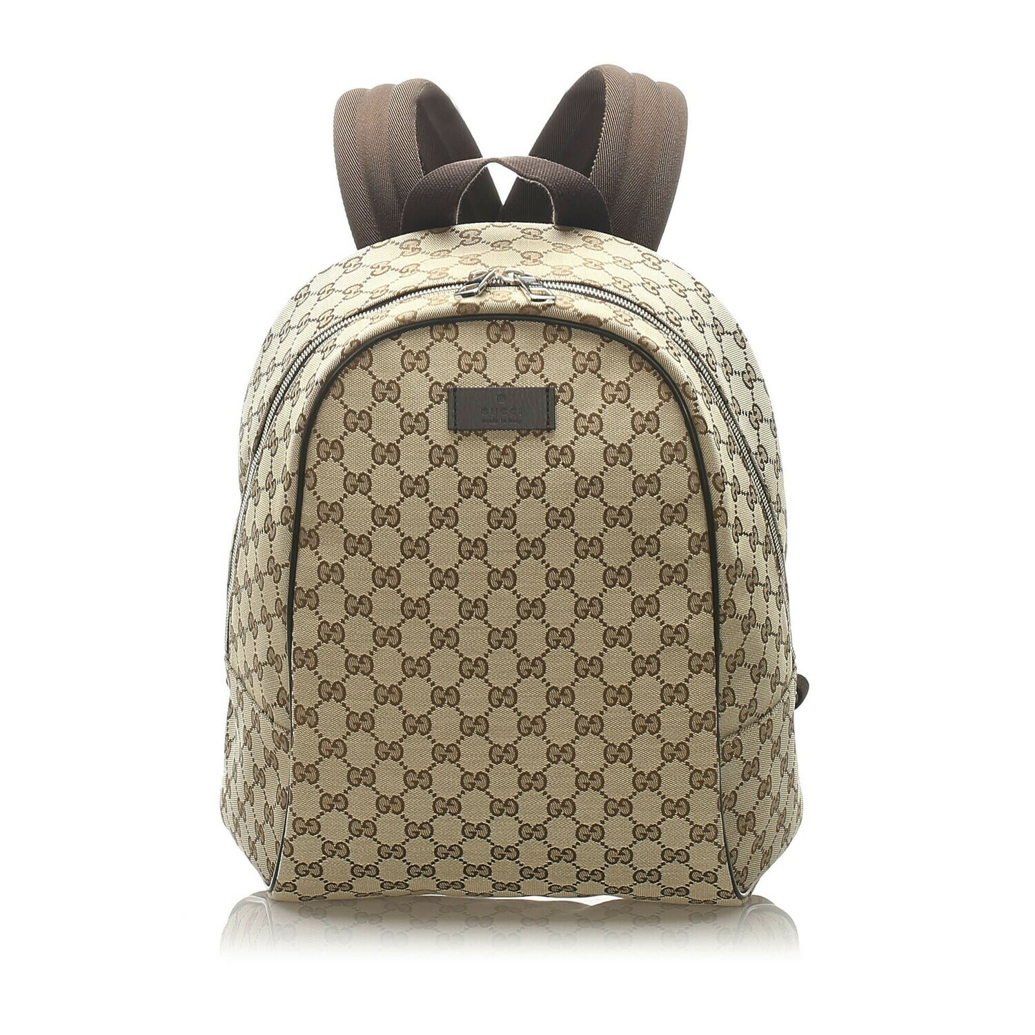 GG Canvas Backpack