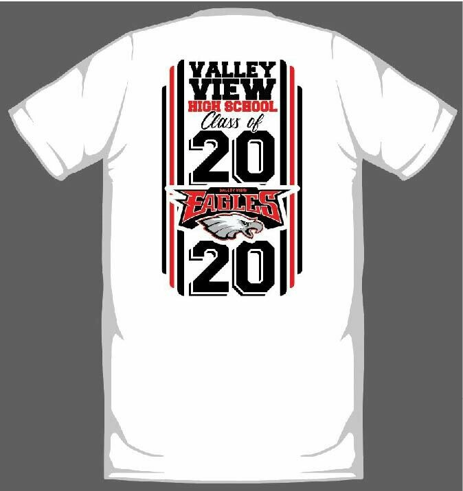 VALLEY VIEW 2020 GRADUATION SHIRT