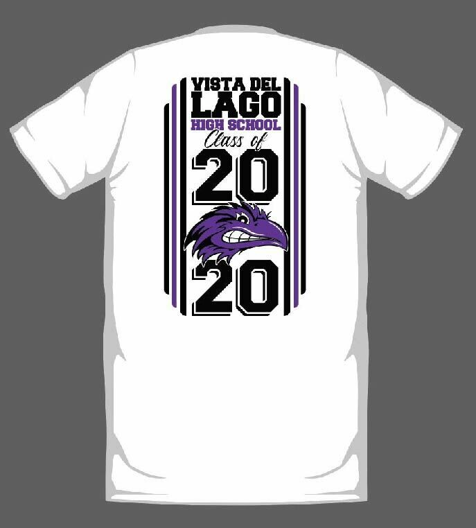 VISTA DEL LAGO 2020 GRADUATION SHIRT