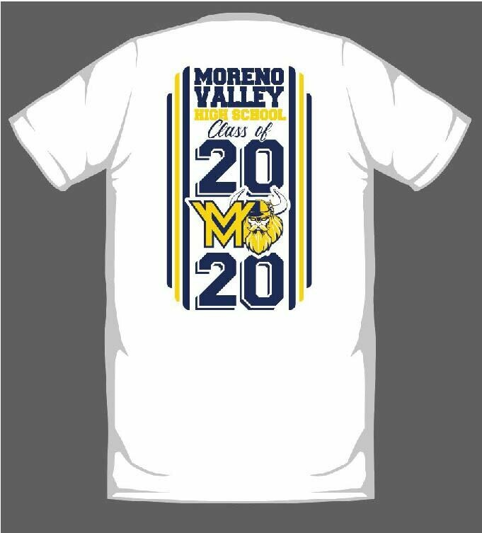 MORENO VALLEY HIGH SCHOOL 2020 GRADUATION SHIRT