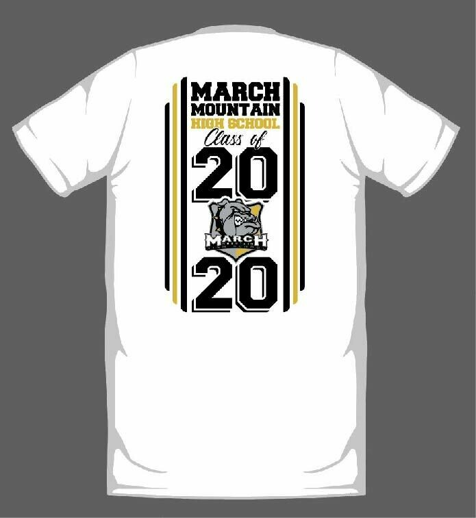 MARCH MOUNTAIN 2020 GRADUATION SHIRT