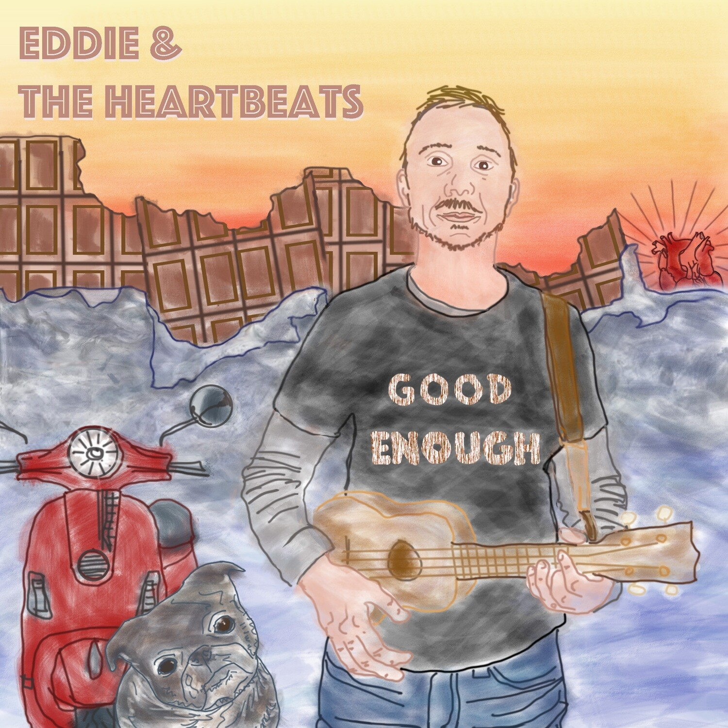 Eddie and the Heartbeats: Good Enough CD
