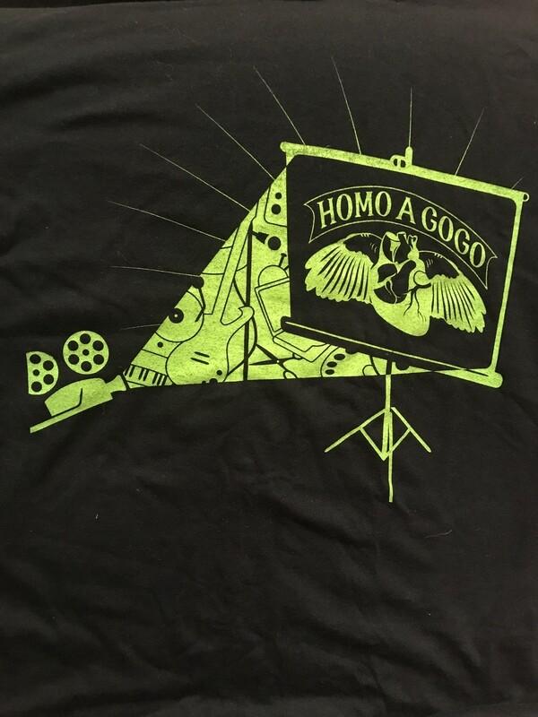 Homo A Go Go 2006 T-Shirt Black/Green