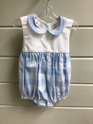 Rosie Blue Buffalo Check Bubble