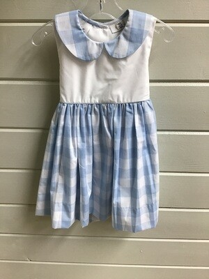 Rosie Blue Buffalo Check Dress