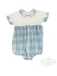 Noah Blue Buffalo Check Boy Bubble