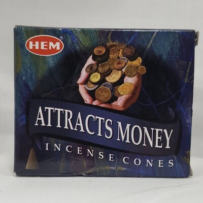 ATTRACT MONEY HEM CONES