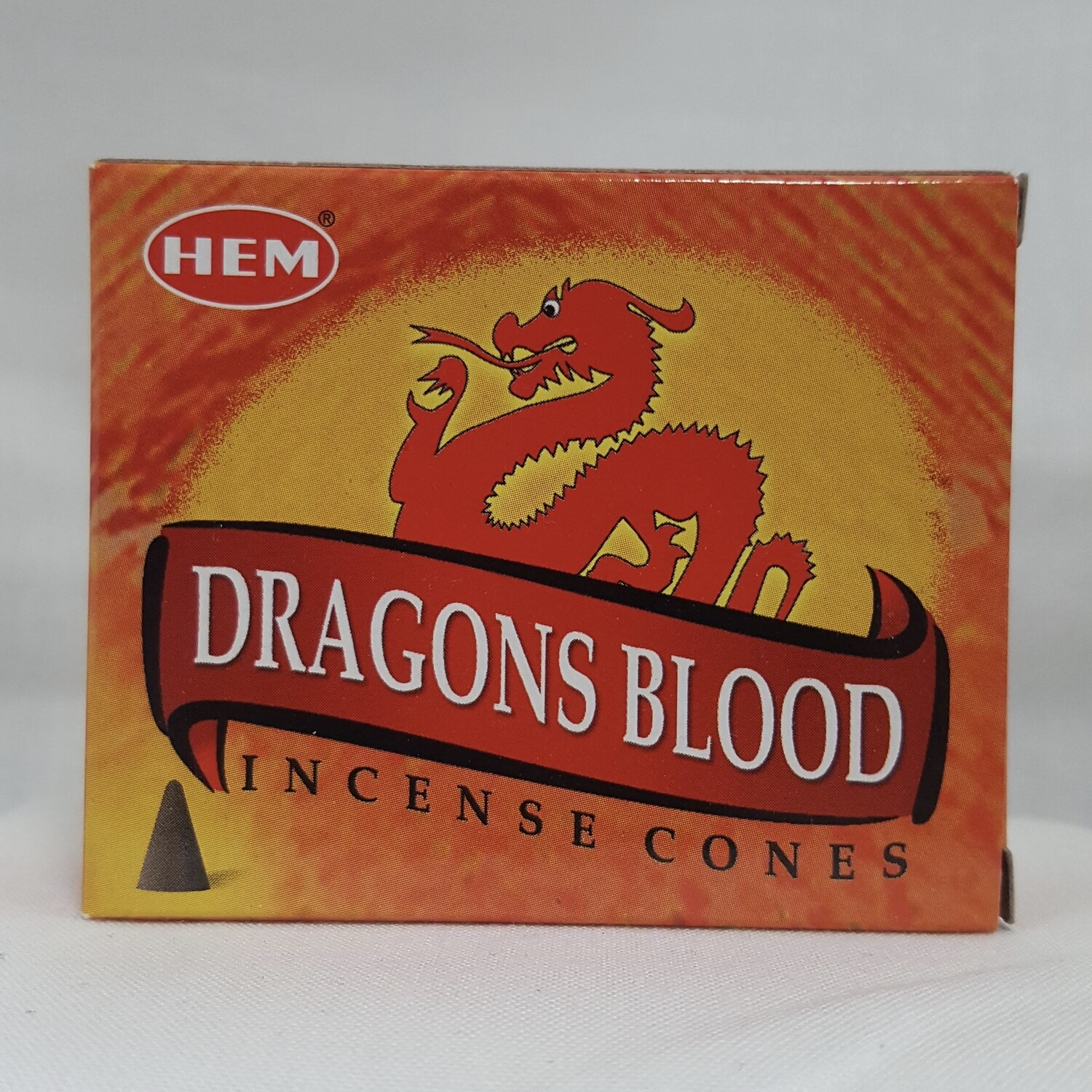 DRAGON'S BLOOD HEM CONES