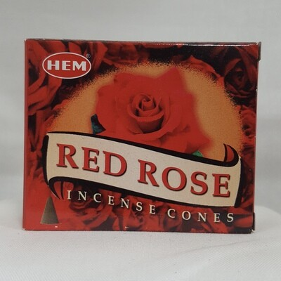 RED ROSE HEM CONES