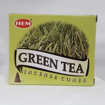 GREEN TEA HEM CONES