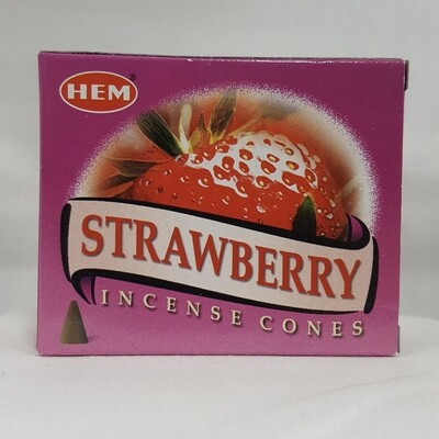 STRAWBERRY HEM CONES