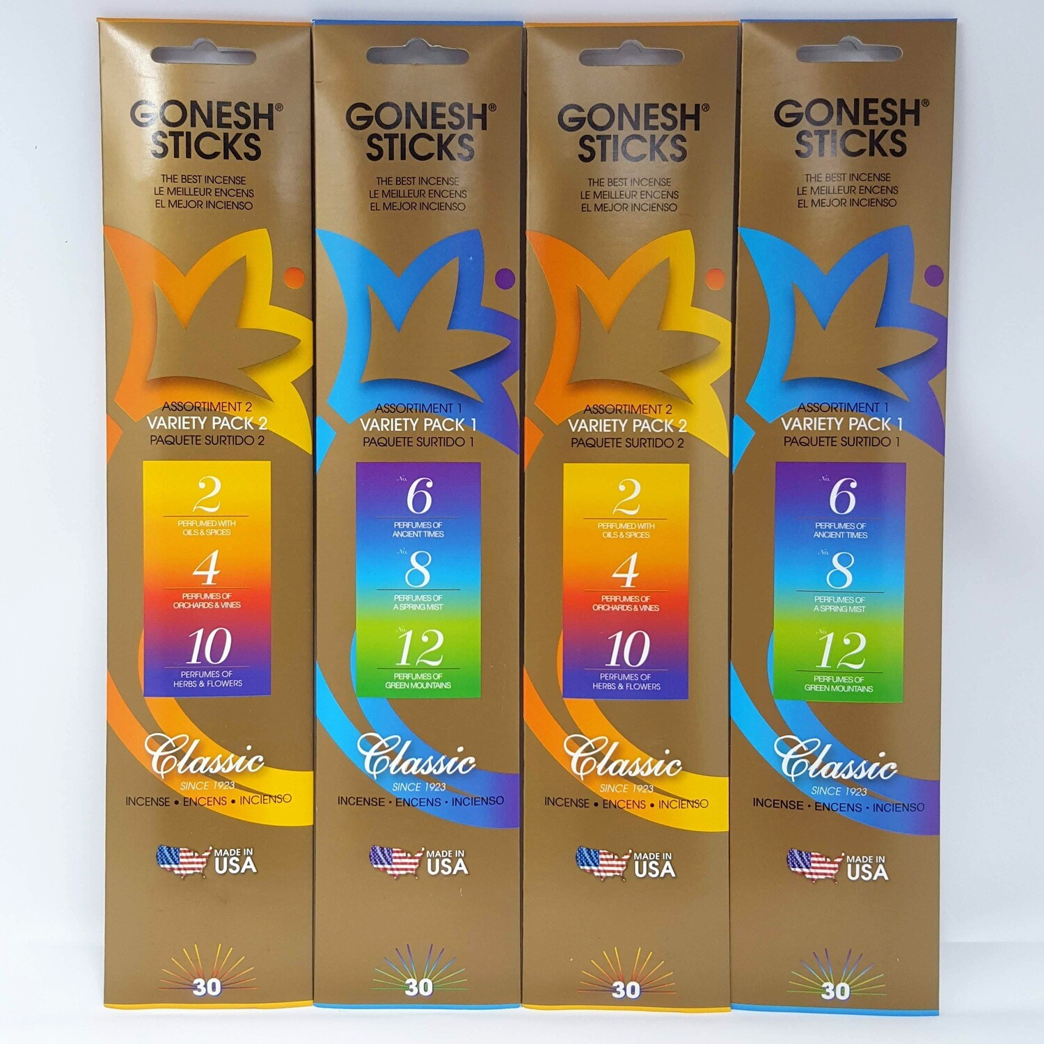 GONESH VARIETY PACKS