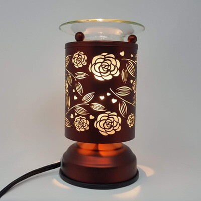 ROSES COPPER TOUCH LAMP