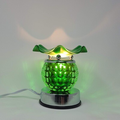 GREEN ROUND TOUCH LAMP