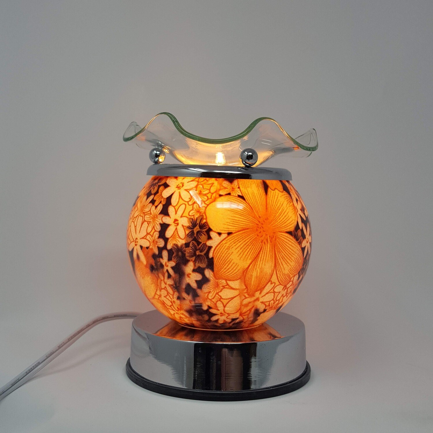 FLORAL BALL TOUCH LAMP