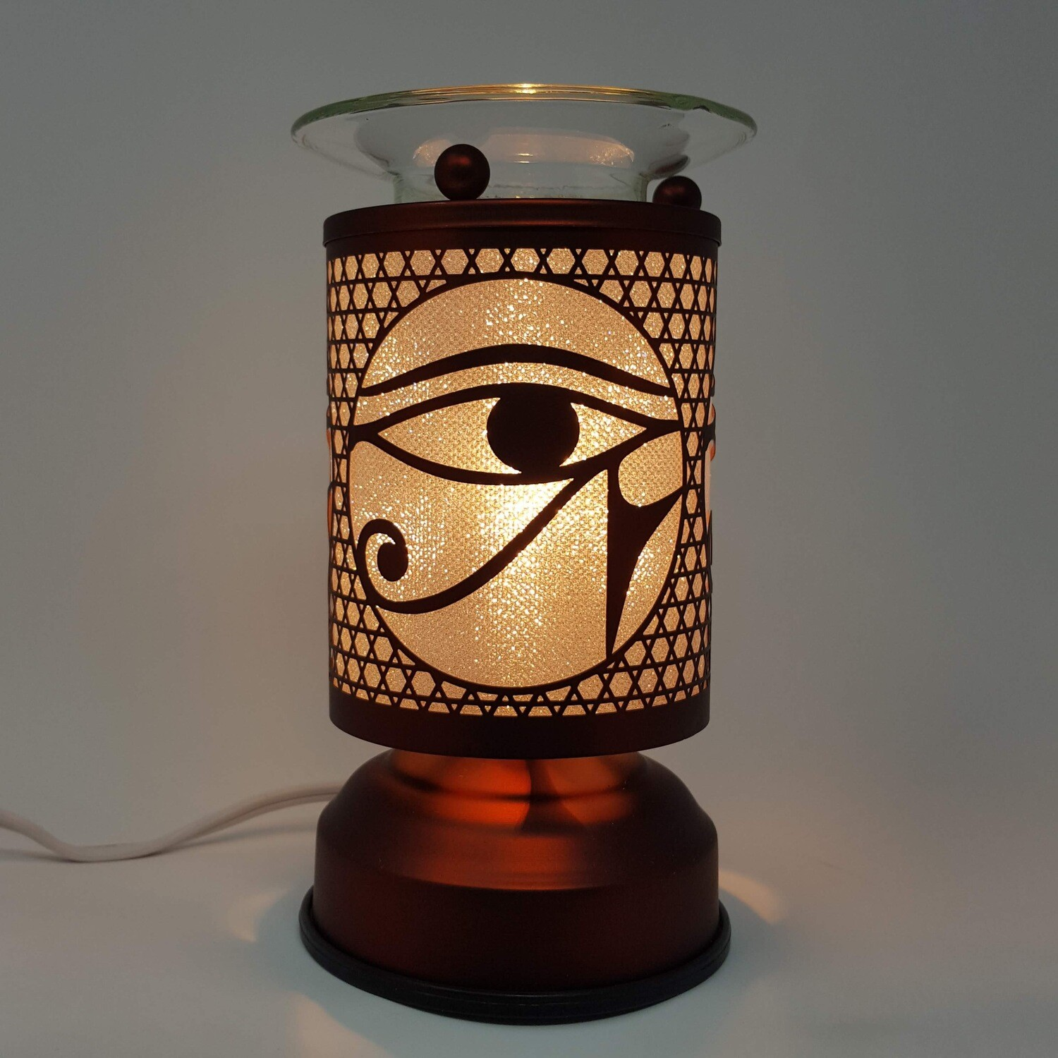 EGYPT EYE COPPER TOUCH LAMP