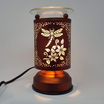DRAGONFLY COPPER TOUCH LAMP