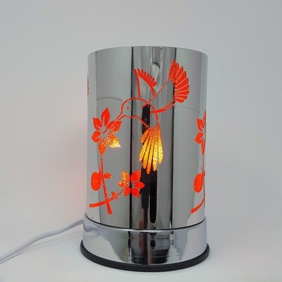 RED METAL HUMMINGBIRD TOUCH LAM