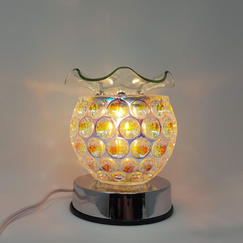 IRIDESCENT CIRCLES TOUCH LAMP