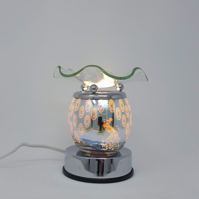 PEACOCK 3D EFFECT TOUCH LAMP