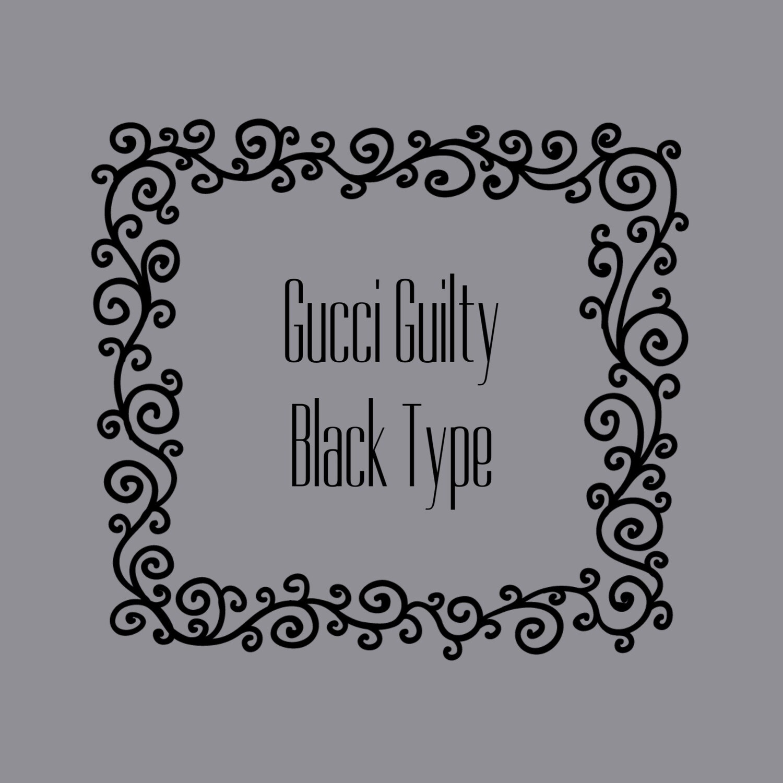 GUCCI GUILTY BLACK FRAGRANCE OIL