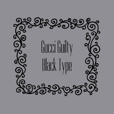 GUCCI GUILTY BLACK FRAGRANCE OIL
