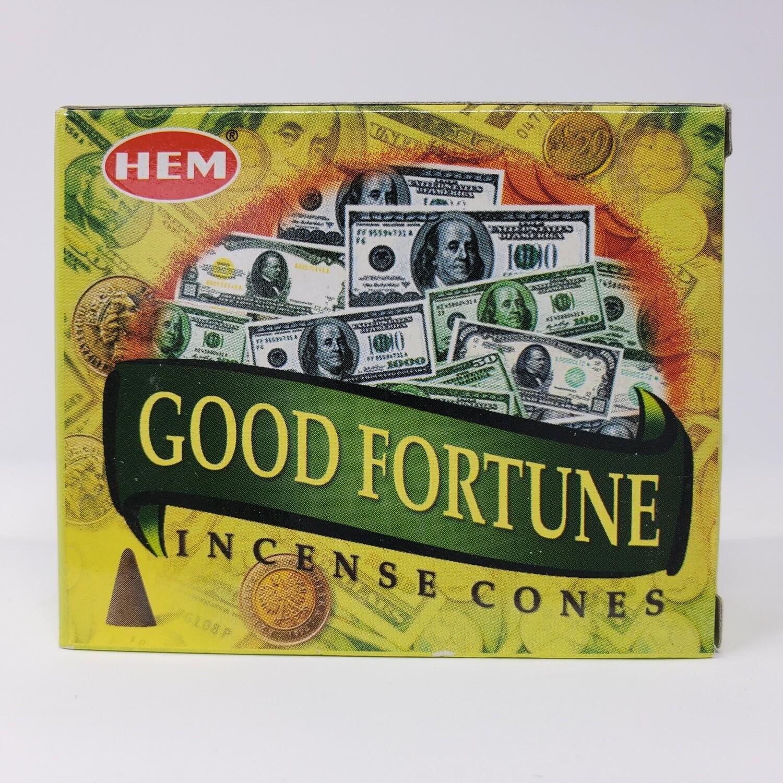 GOOD FORTUNE HEM CONES