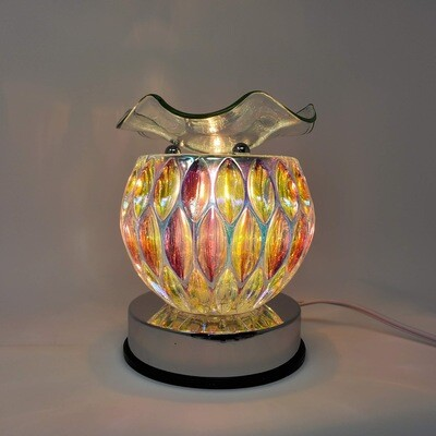 IRIDESCENT OVALS TOUCH LAMP