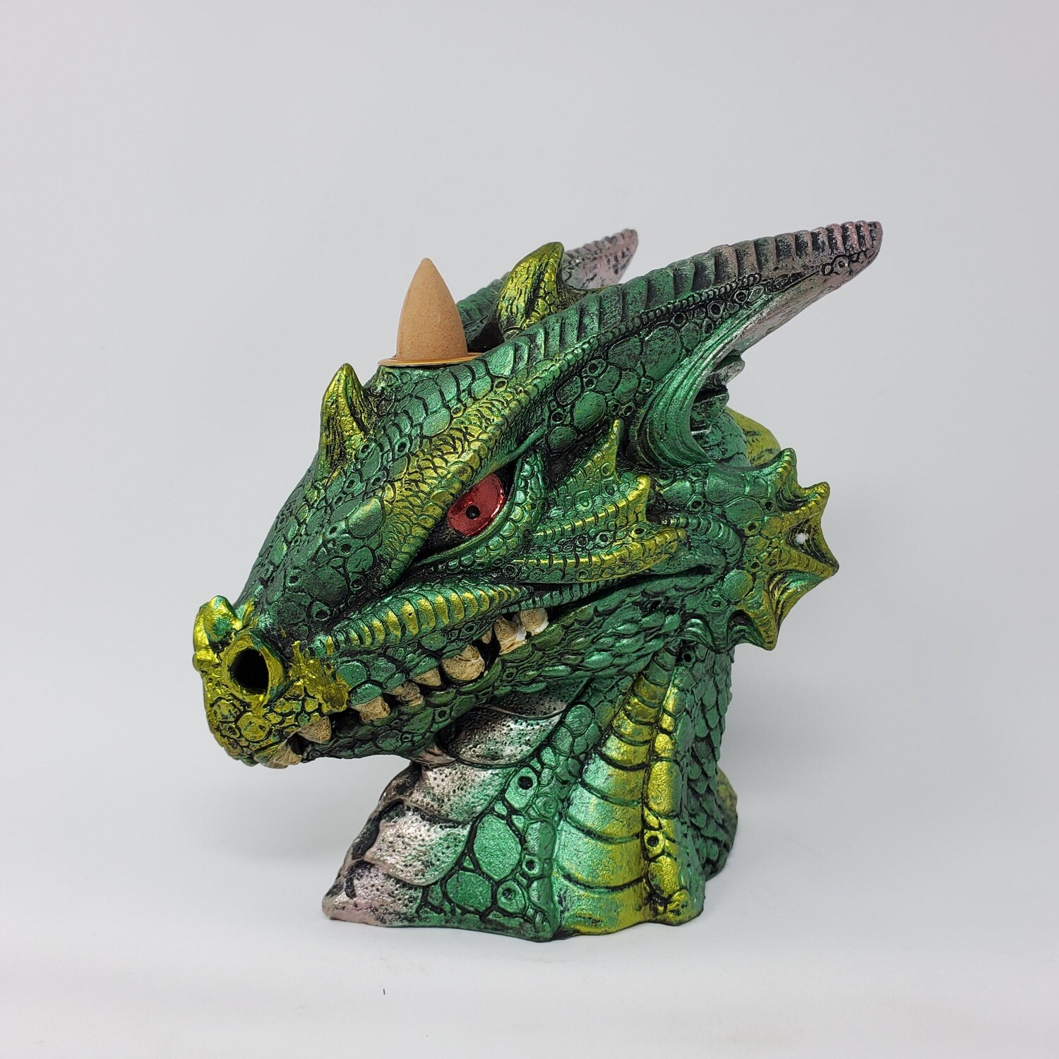 GREEN DRAGON BUST BACKFLOW BURNER