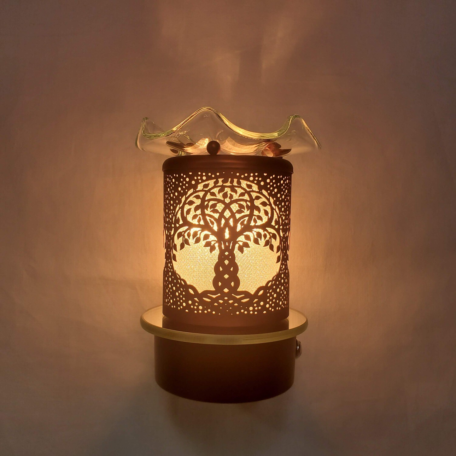 TREE OF LIFE TOUCH PLUG-IN LAMP
