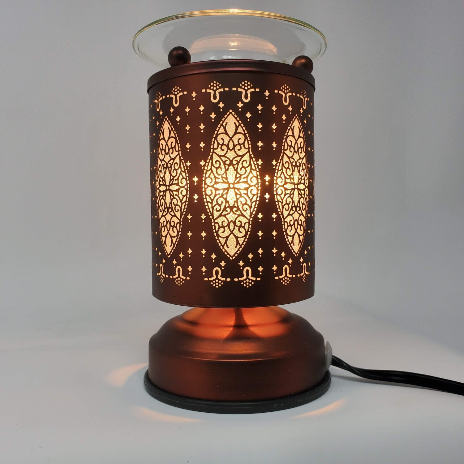 ELEGANT COPPER TOUCH LAMP