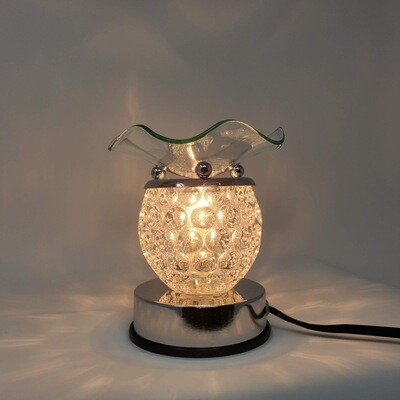 CLEAR ROUND TOUCH LAMP