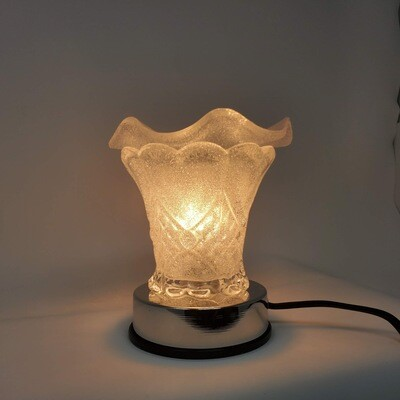 FROSTED HEART TOUCH LAMP
